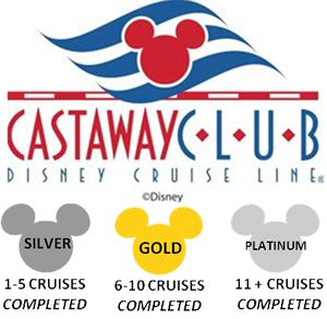 Are you in the Castaway Club ?  Disney Cruise insider tips... we are silver ;)