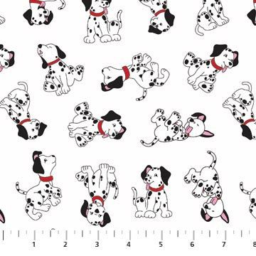 Northcott Dalmatian Rescue by Deborah Edwards 20232 by overrainbow, $9.75