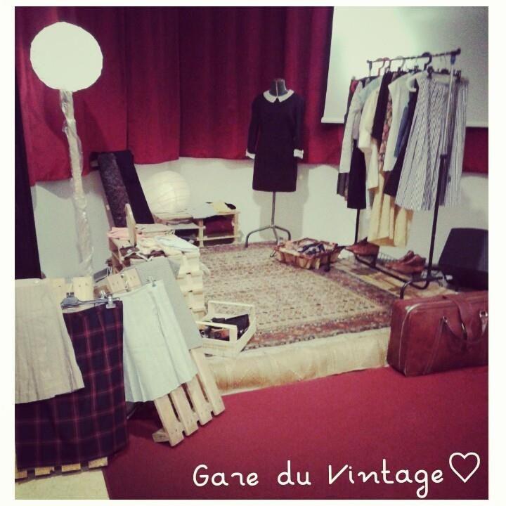 """Prepare our concept-store """"La Gare du Vintage"""""""