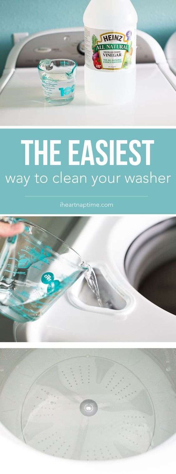 Here is the easiest way to clean your washer …all it takes is ONE ingredient and a few minutes to leave your washer smelling squeaky clean....