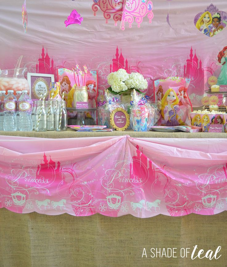 A Disney Princess Party On A Budget, Plus Free Printables!