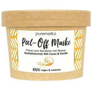 """Peel-Off Maske """"Revitalisierend – Coconut & Vanilla"""" – Puremetik – Jetzt kaufen oder …"""