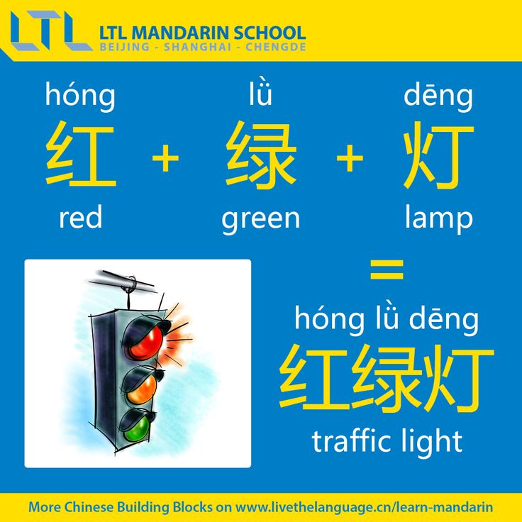 Traffic Light - Chinese Language School in Beijing, China | LTL Mandarin School