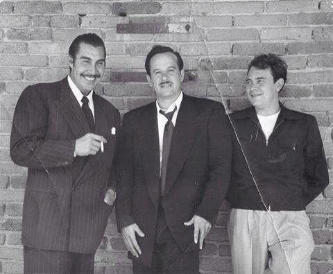 "Emilio ""El Indio Fernandez"", Pedro Infante e Ismael Rodriguez"