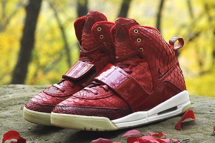 Nike Air Yeezy 1 Red October by JBF Customs