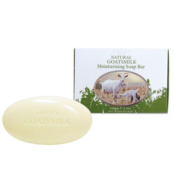 石鹸「ティリーゴートミルク」ソープ(150g)