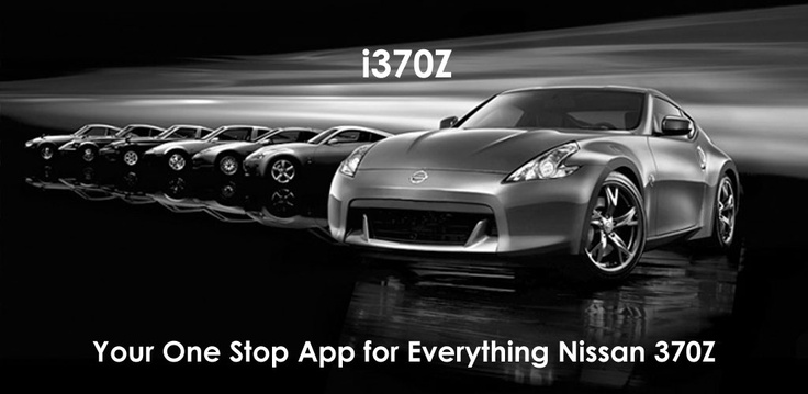 i370Z App on the iTunes App Store, Android Market/Google Play Market & Amazon AppStore! #Nissan #Z34 #FairladyZ #Nismo #370Z #370GT #Fairlady #Android #iOS #App