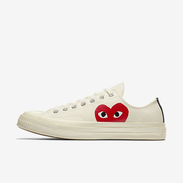 Comme des Garcons PLAY x Converse Chuck Taylor All Star 70s Low Top
