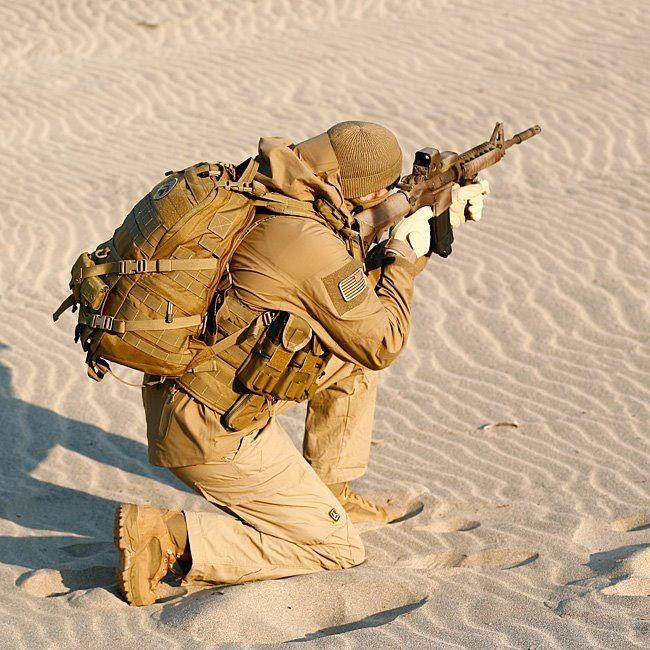 Survivor in TAD gear.