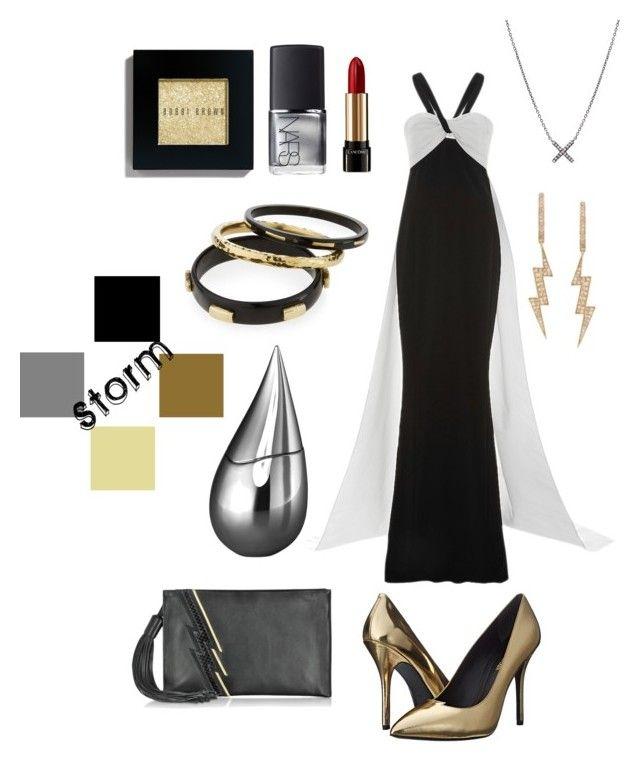 Black dress necklace x man