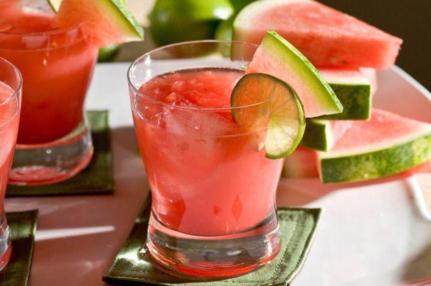 watermelon-lime sangriaAlcohol Drinks Recipe, Summer Cocktails, Summer Drinks, Food, Margaritas Recipe, Watermelon Cocktails, Watermelon Margaritas, Orange Juice, Cocktails Recipe