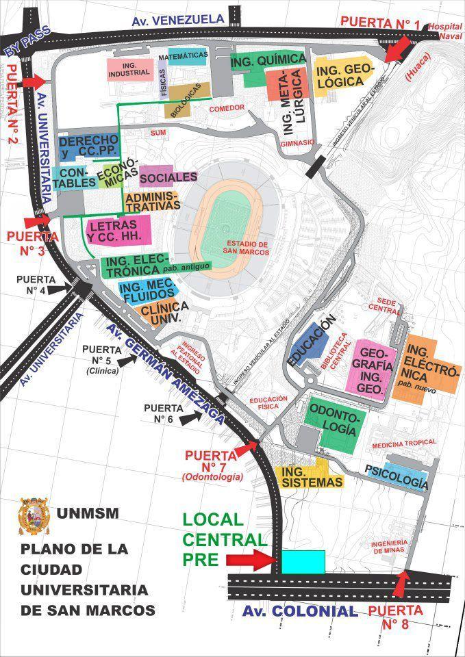 Centro Preuniversitario UNMSM - Ciudad Universitaria