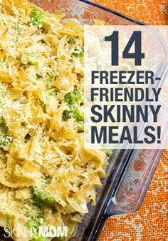 Amazingly easy,  freezer friendly meals!