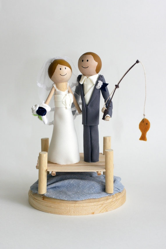 fishing wedding cake 25 best ideas about fishing cake toppers on 14287