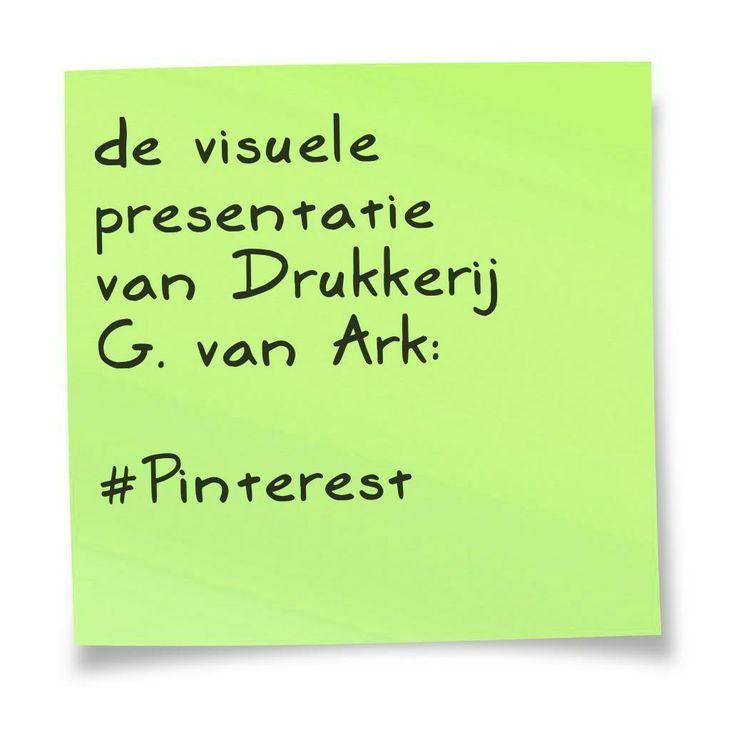 de visuele presentatie van .... http://www.drukkerijvanark.nl/