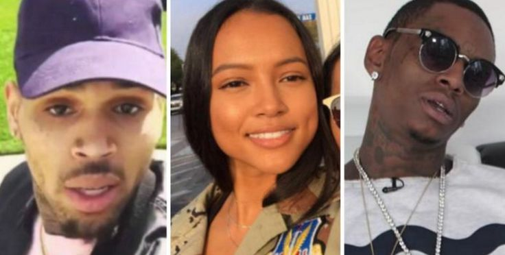 Soulja Boy's latest insta-beef is with Chris Brown. It's over Karrueche Tran. Or rather a photo of Karrueche Tran. SB and Breezy have been threatening each other in IG videos since the very early morning on the West Coast — which Soulja now claims he reps. They're going to box or something. Karreuche isn't feeling …