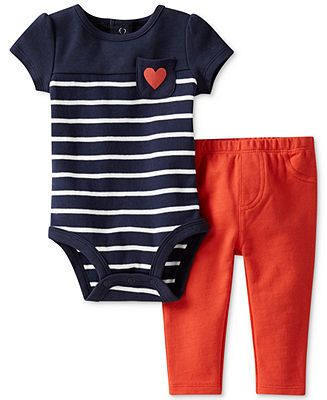 Carter's Baby Set, Baby Girls 2-Piece Bodysuit and Pants - Kids Baby Girl (0-24 months) - Macy's
