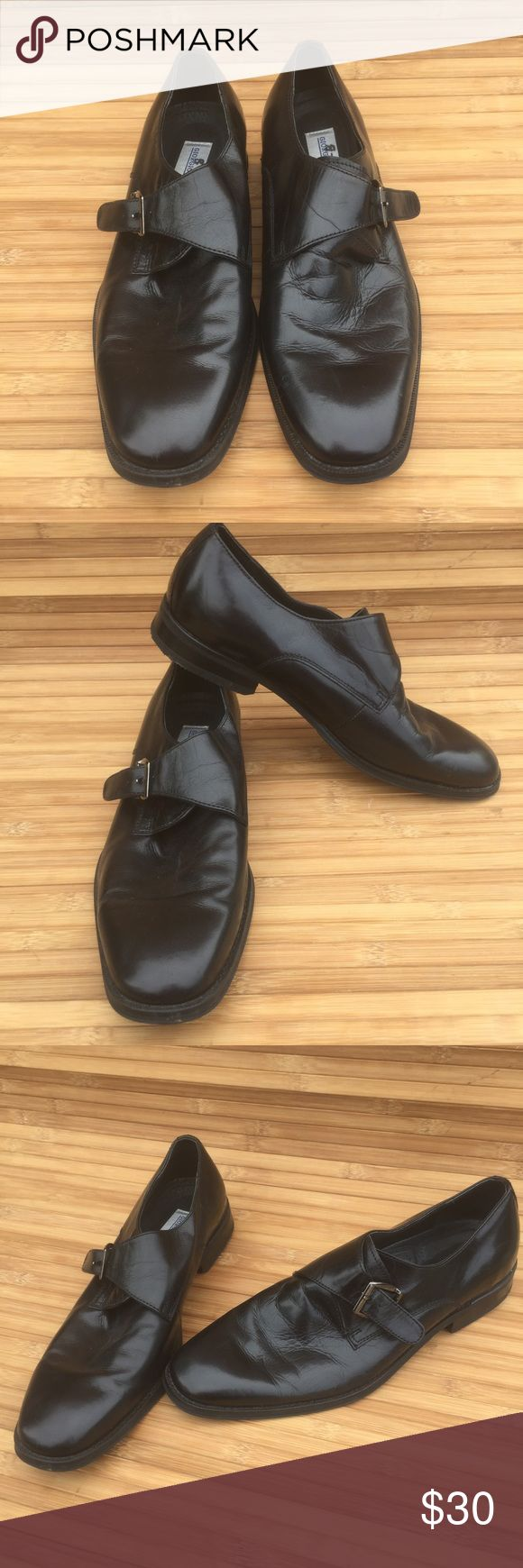 Giorgio Brutini Buckle Shoes Gorgeous leather men's dress shoes with silver buckle in great condition. Nice designer in an 8.5. Giorgio Brutini Shoes Oxfords & Derbys