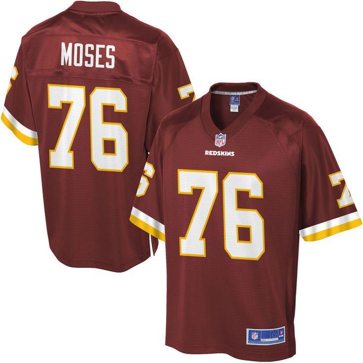 NFL Pro Line Mens Washington Redskins Morgan Moses Team Color Jersey