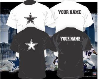 Dallas Cowboys Long Sleeve T-Shirt by 5thRowSouth on Etsy
