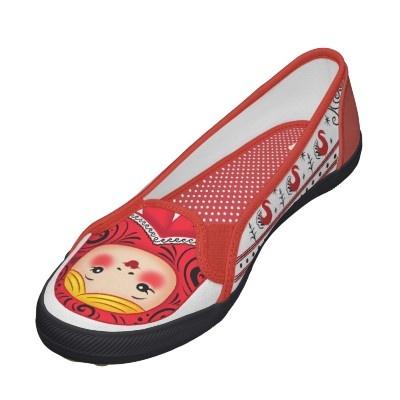 Russian Matryoshka Custom Shoes from Zazzle