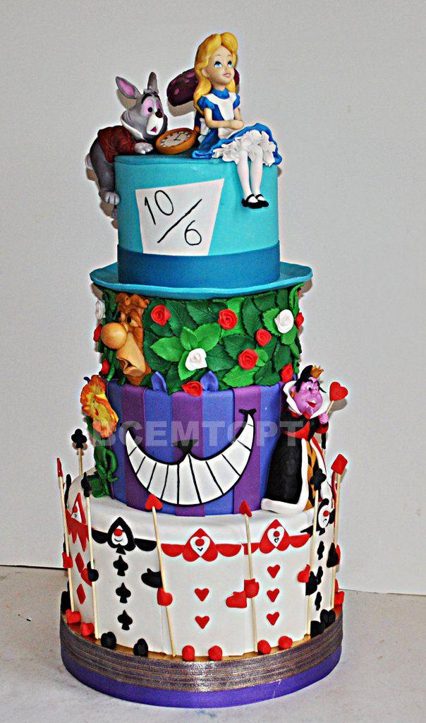 Детские торты с алисой в фото