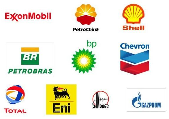 oil and gas company logos | Top 10 Oil and Gas Companies