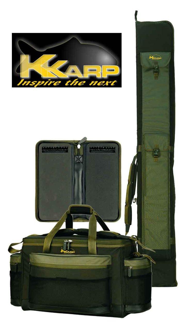 Pack Bagagerie Carpe Kkarp Pack bagagerie Carpe Kkarp  Vous recherchez un set complet pour votre équipement de pêche à la carpe ? Kkarp a conçu ce pack composé d'un fourreau pour cannes 13 pieds, d'un sac carryall de capacité de 50lts et d'une trousse de montage.  http://www.carpand.com/pack-bagagerie-carpe-kkarp