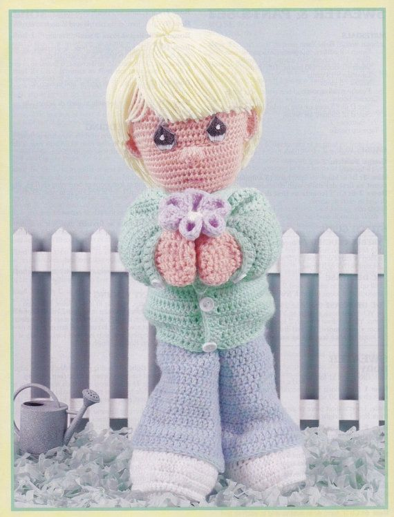 Precious Moments Dolls to Crochet Leisure Arts by LucyGooseyDolls