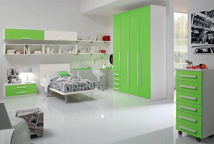 Modern Kids Bedroom Set WEB 02 by SPAR, Italy
