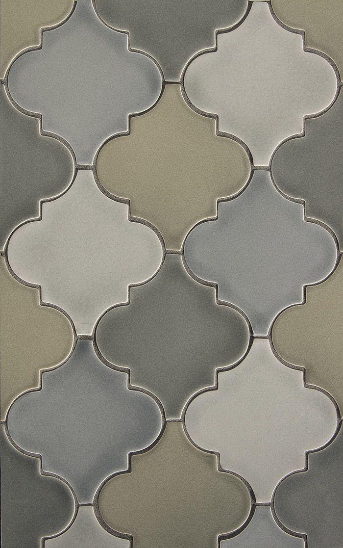 Decorative Materials » Ceramic Specialty Shape Arabesque Tile