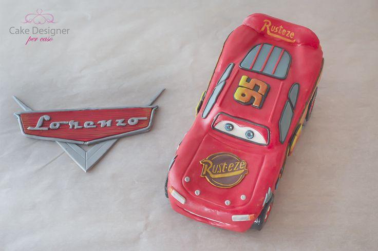 Cake Designer  per caso [Cars - Saetta McQueen]