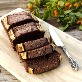 A Banana Chocolate Bread recipe made two ways. Super delicious without being too sweet.