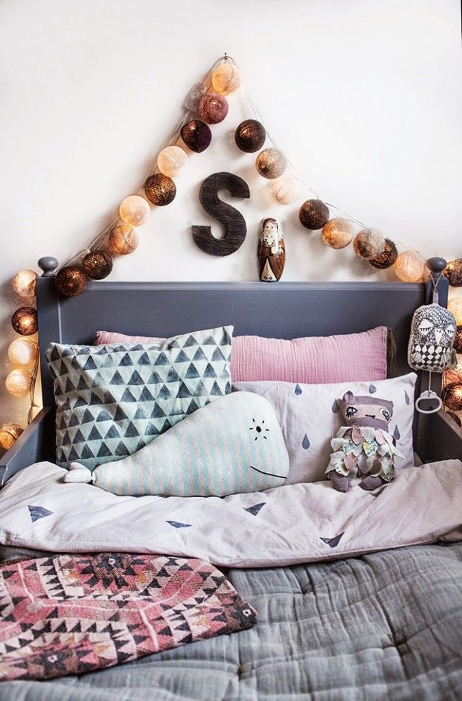 A Bohemian Chic Kids' Room - Petit & Small