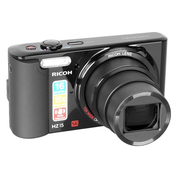 Ricoh HZ-15 - 16 MP in black by Pentax. http://www.zocko.com/z/JHmKN