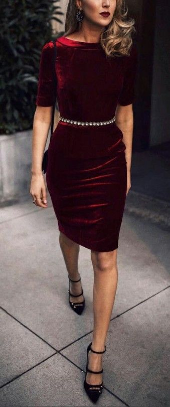 Maybe ... for Becca's wedding. Not sure about the red, it would need to be really dark burgundy, black or navy