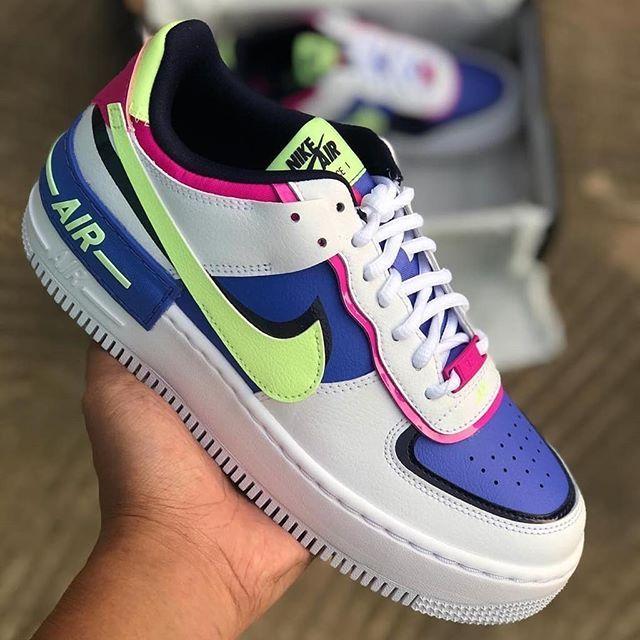 Nike Wmns Air Force 1 Shadow Sapphire Cj1641 100 Nike Fashion Shoes Nike Air Force Air Force Shoes 4.3 out of 5 stars 11 ratings. nike fashion shoes nike air force