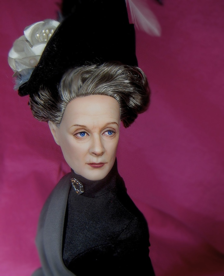 amazing repaint by A Scarlett Reverie - Love the Downton Abbey repaint