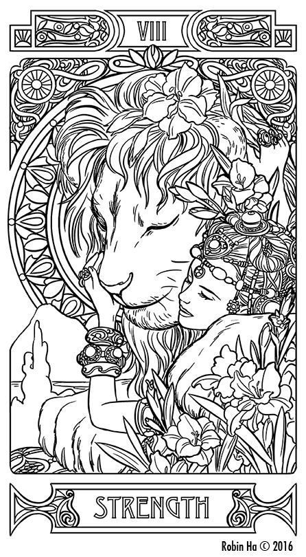tarot coloring pages Image result for tarot card coloring pages | A a Woman | Tarot  tarot coloring pages