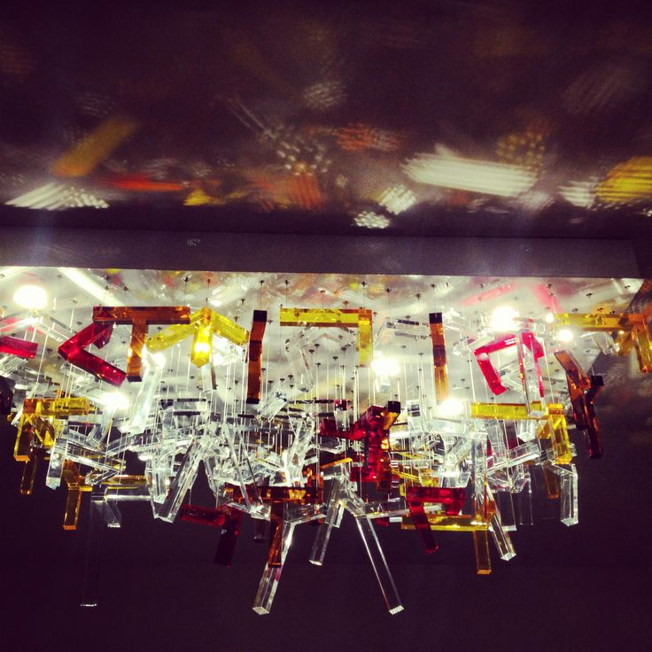 Our newest bespoke lighting sculpture - hand cut glass. Design by Jan Janecký for Kolektiv Ateliers!