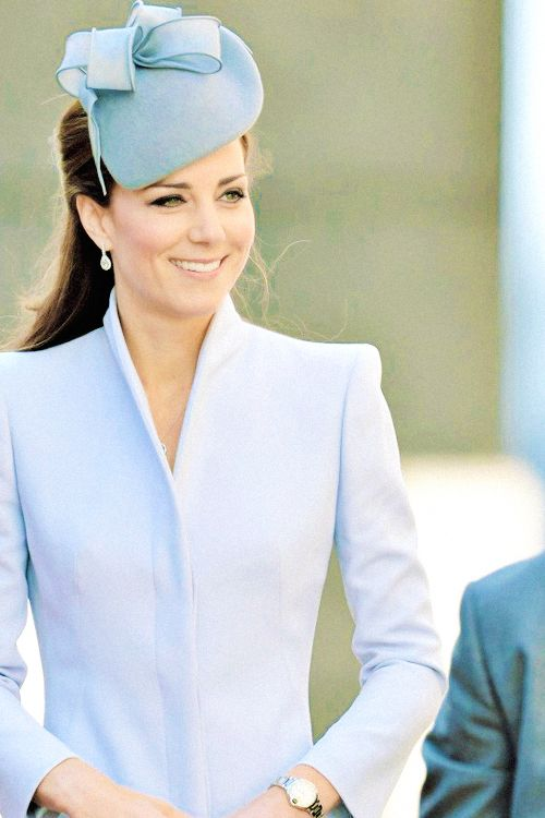 Catherine, Duchess of Cambridge wearing Alexander McQueen as she attends Easter Sunday Service at St. Andrew's Cathedral in Sydney, Australia, April 20th, 2014 #katemiddleton
