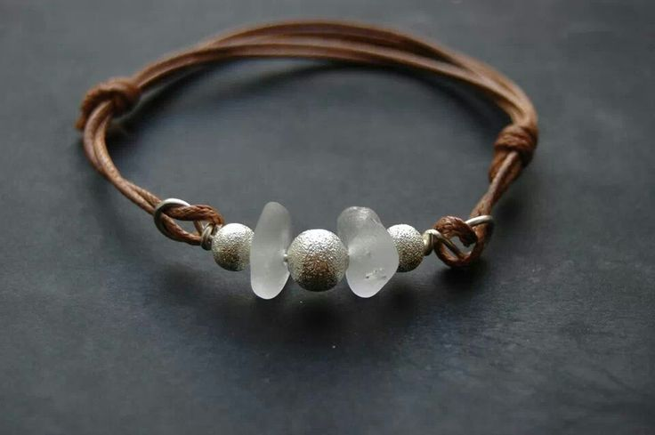 Stardust and sea glass