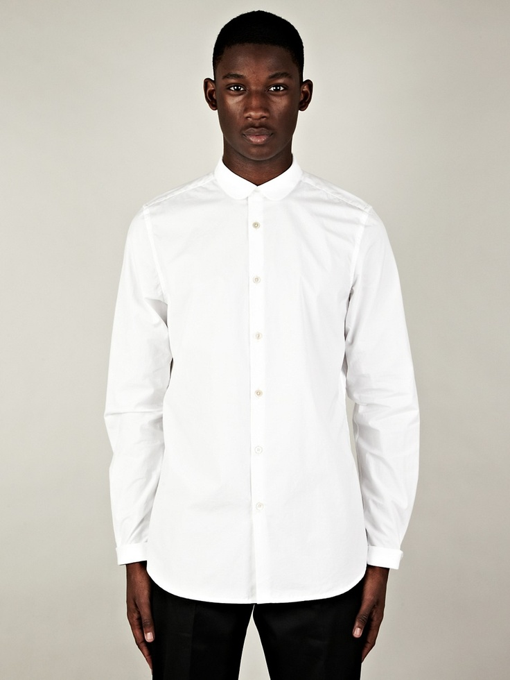 Paul Smith White Round Collar Dress Shirt - these are the ultimate collars in my opinion.