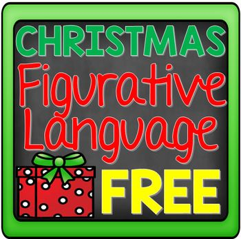 Use this FREE Christmas figurative language activity to practice and promote fun and creativity in a classroom. This would be a great activity to use during the month of December or during the firest few classes leading up to the Christmas holiday break.