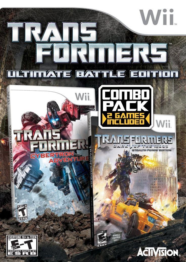 Videojuego Transformers Ultimate (2 Juegos) Wii. Compra en línea fácil y seguro. www.kemik.gt #Kémik