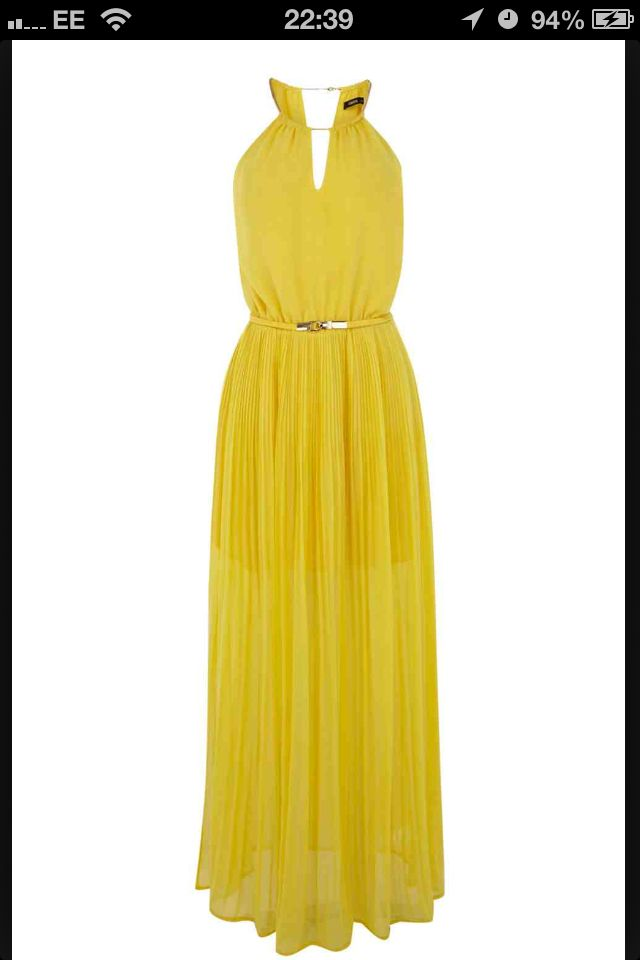 Oasis yellow maxi dress wedding outfits and accessories for Yellow maxi dress for wedding