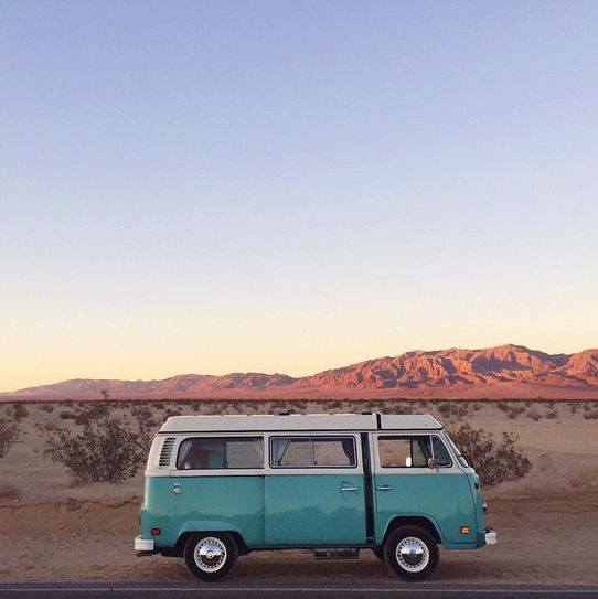 Home is where you park it. Volkswagen #RoadTrip #Bus #Adventure #Explore…