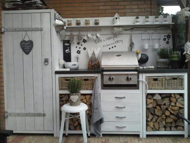 Inspirace venkovní kuchyňky