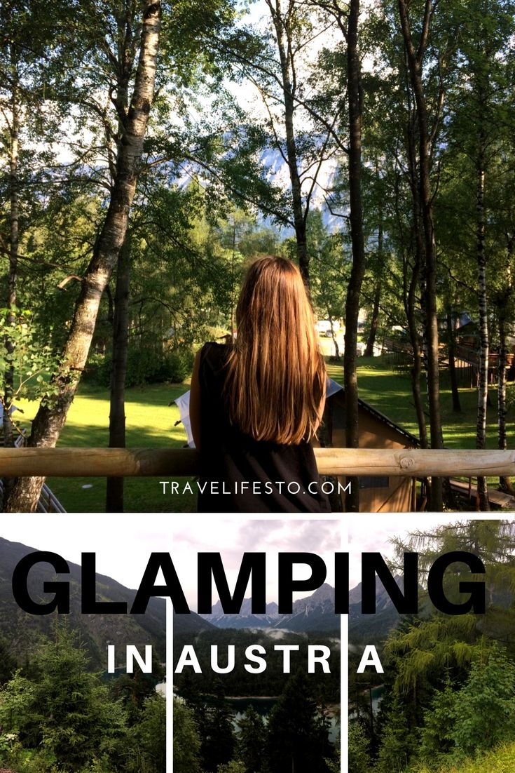 My first ever glamorous camping (a.k.a. glamping) experience in Austria! Ferienparadies Natterer See
