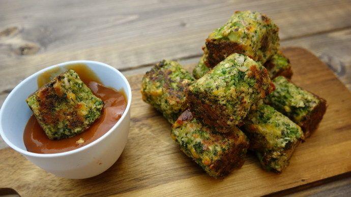 broccoli hapsere med ost og rasp